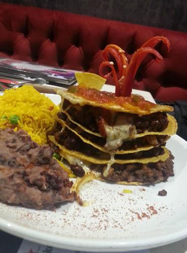 Enchilada Stack Tex Mex Malta