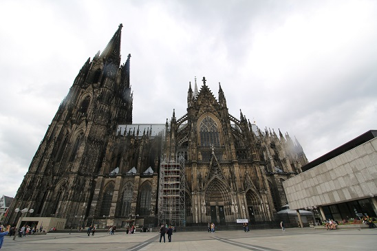Visiting Cologne Cathedral